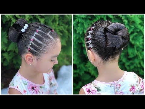 Peinado Elegante Para Niñas Facilesrecogido Para Fiestas