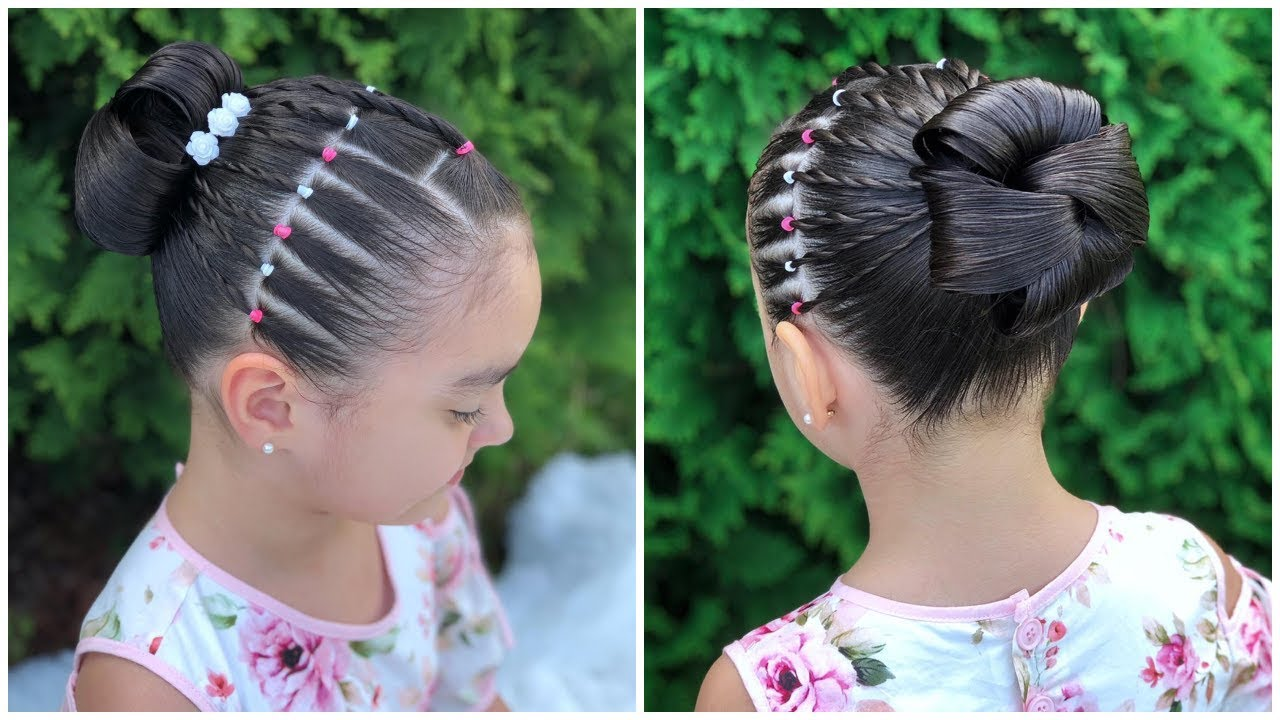 De última generación peinados de ninas Fotos de consejos de color de pelo - PEINADO ELEGANTE PARA NIÑAS FACILES|RECOGIDO PARA FIESTAS ...