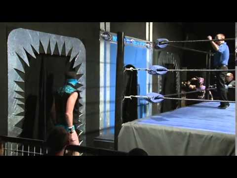 CHIKARA - Hilarious 'Magic Doors' Wrestling Spot
