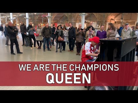 Queen We Are The Champions - Man Misses Train - Cole Lam 12 Years Old