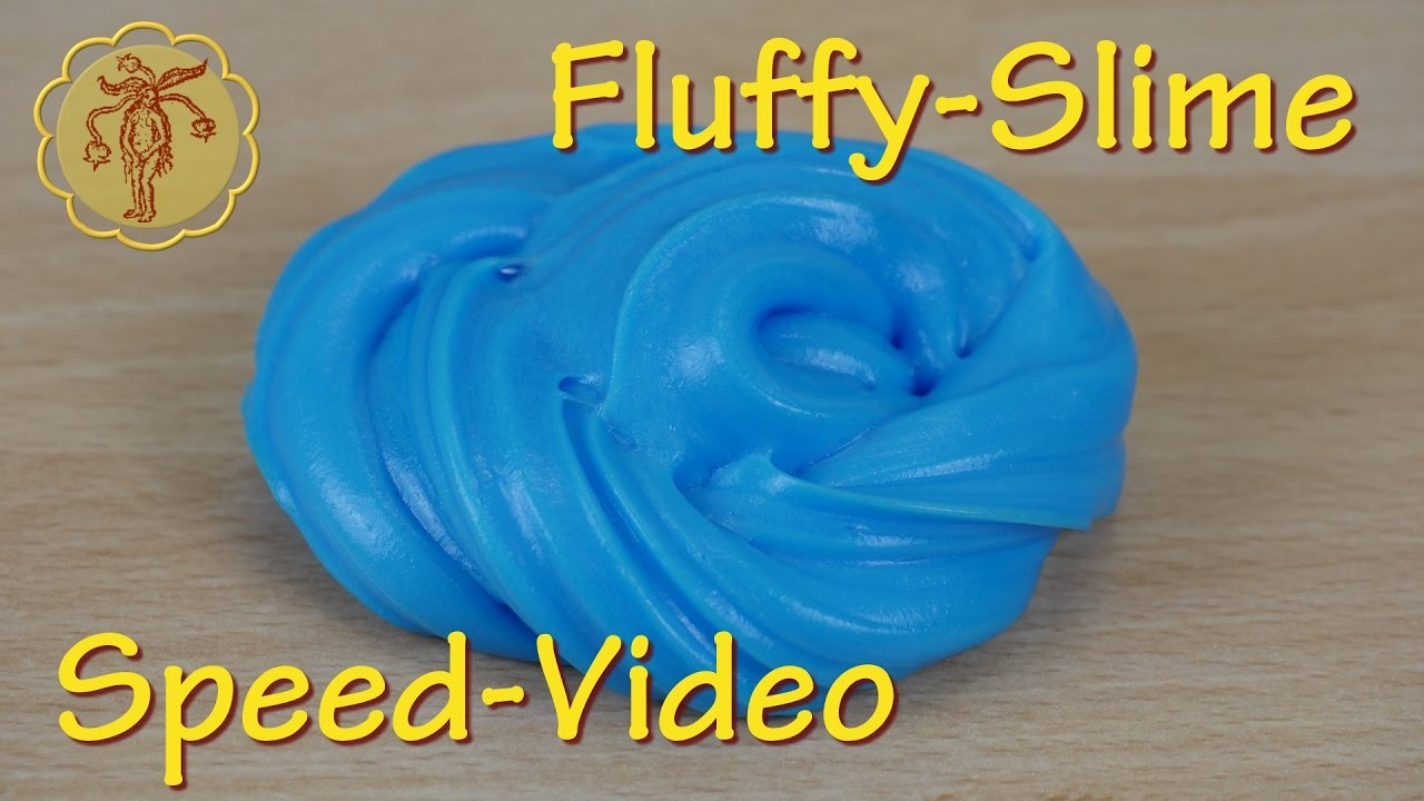 fluffy slime speed video ohne waschmittel und ohne boraxpulver youtube. Black Bedroom Furniture Sets. Home Design Ideas