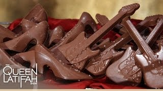 Bacon Chocolate on The Queen Latifah Show