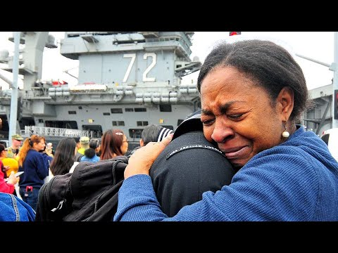 Homecoming of USS Lincoln to San Diego