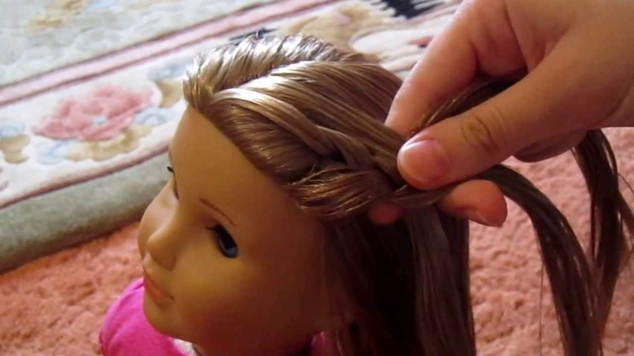 How To Do French Braids Into Pigtails On Your American Girl Doll