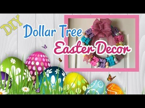 DIY Dollar Tree Easter Wreath   Dollar Tree DIY   Dollar Tree Decor
