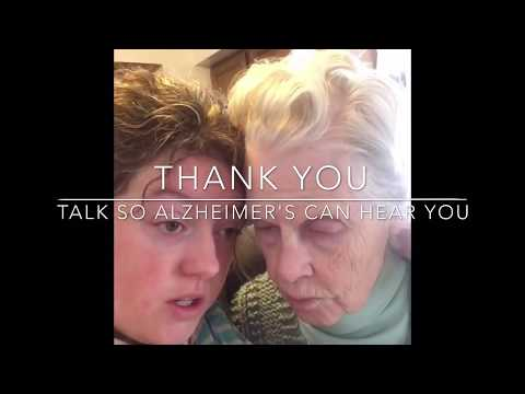 How to talk so Alzheimer's can hear you