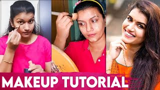 How to apply Makeup by Sridevi Ashok   Beginners Guide I Makeup tutorial