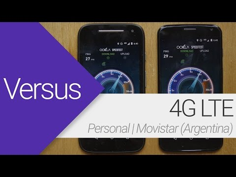 Velocidad 4G LTE | Movistar Vs. Personal (Argentina)