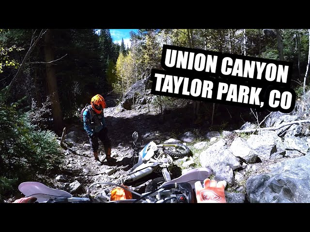 Union Canyon - One of the most beautiful canyons in Taylor Park