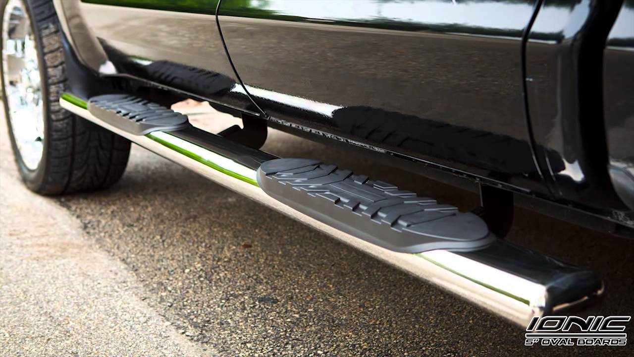 Ionic Automotive Running Boards and Nerf Bars Product