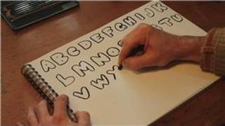 Drawing Practice : How to Draw the Alphabet in Bubble Letters