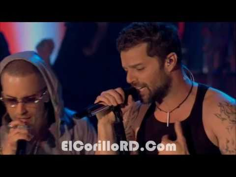 Ricky Martin FT Wisin & yandel - Frio HD  (Live)