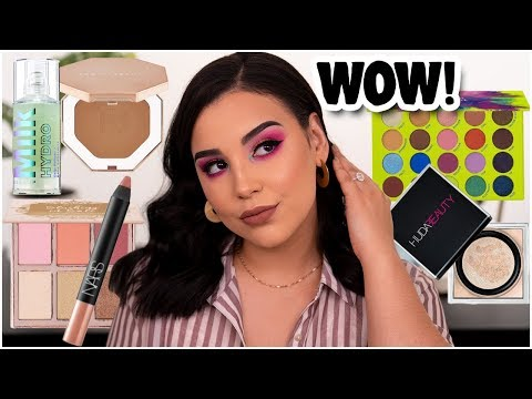 TESTING NEW HIGH-END & AFFORDABLE MAKEUP PRODUCTS 2019!| MakeupByAmarie
