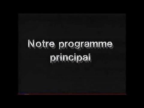 Notre programme principal