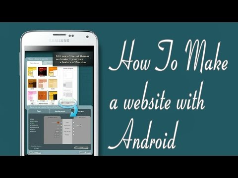 How to Make a Website With Android -...