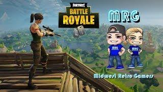 Fortnite Battle Royale 20 v 20 Live (PC 1440p 60fps) Husband and Wife Team!