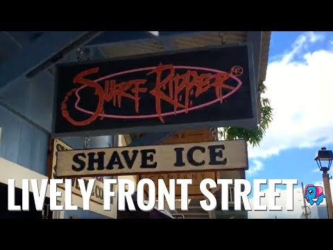 Maui's Historic Lahaina Town - Food, Art, and Culture on Front Street