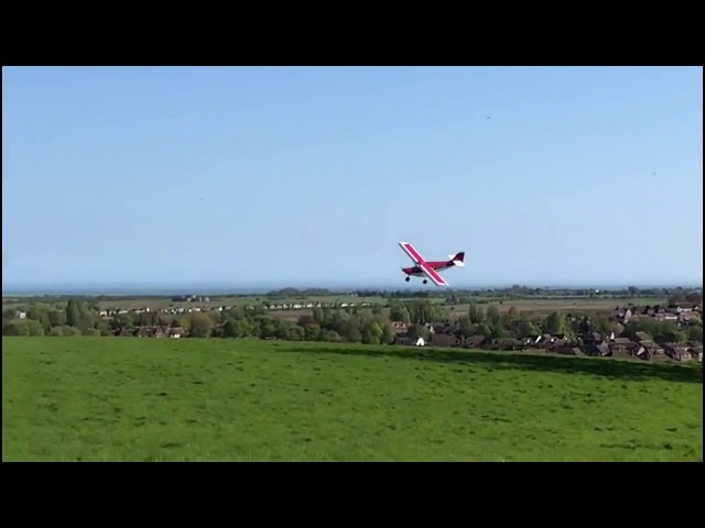 Extreme short landings on a helipad STOL 50 metre landings