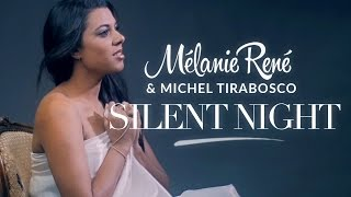 « Silent Night » Mélanie René & Michel Tirabosco (Christmas Song with Pan Flute)