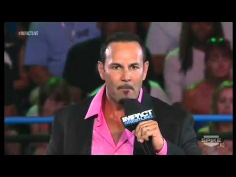 Chavo Guerrero's Debut - Impact 26/7/2012