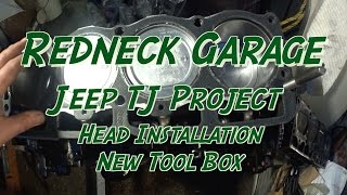 Jeep Wrangler 2.5 / 4.0 Rebuild Series- Head Install - New Tool Box