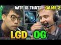 LGD vs OG TI8 - INVOKER METEOR HAMMER - THE INTERNATIONAL 2018 Game 2