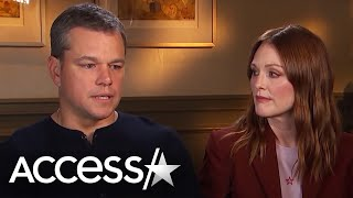 failzoom.com - Matt Damon Says He Knew That Harvey Weinstein Had Once Harassed Gwyneth Paltrow | Access Hollywood