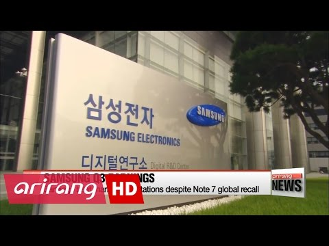 Samsung Electronics Q3 earnings beat market expectations despite Note 7 recall