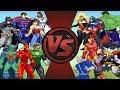 Justice League vs Avengers | Animation (DC vs Marvel) | AnimationRewind