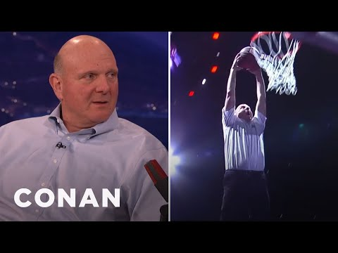 Steve Ballmer Has Got Game  - CONAN on TBS
