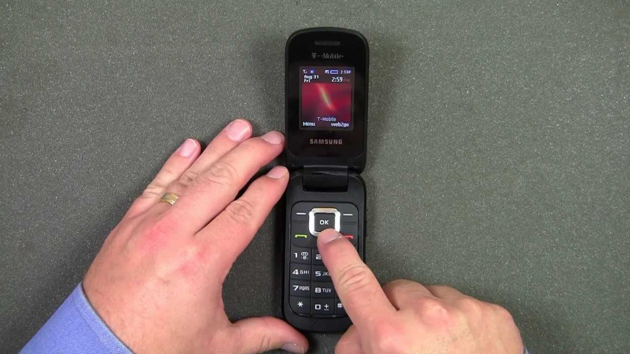 Quick Look Samsung T-159 Flip Phone for T-Mobile