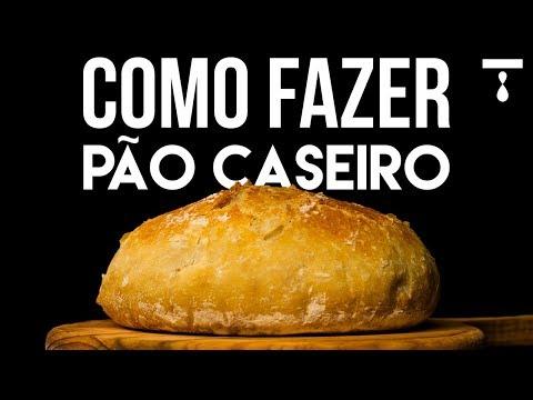 COMO FAZER PÃO CASEIRO
