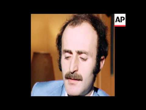 SYND 6 5 77  WALID JUMBLATT IN EXCLUSIVE INTERVIEW ON SYRIA