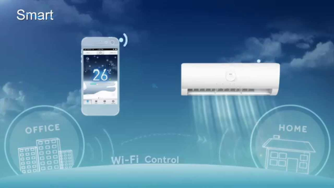 Haier India Wi-Fi Air Conditioners - YouTube
