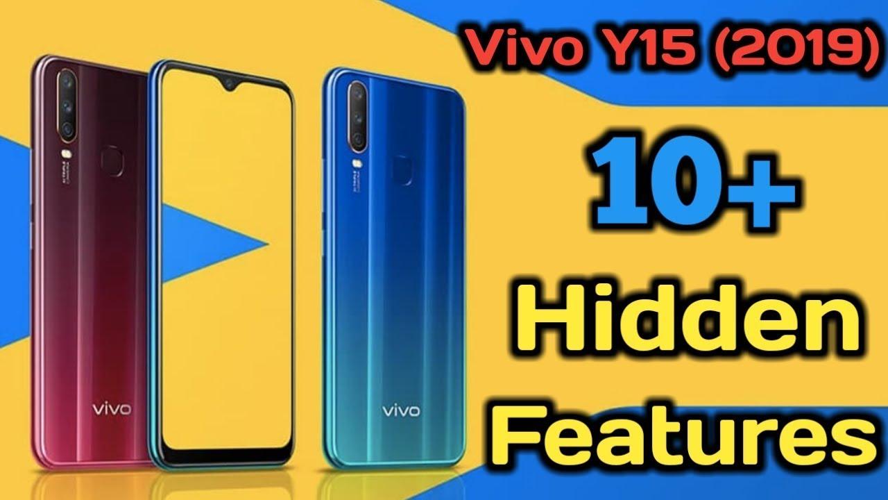 Vivo Y15 (2019) Hidden Features | Vivo Y15 10+ Best Features || tips and  tricks