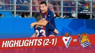 Resumen de SD Eibar vs Real Sociedad (2-1)