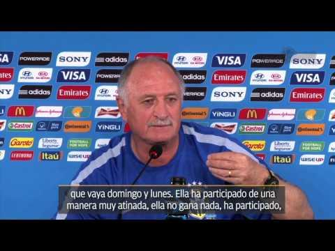 Felipe Scolari 'mandó' a periodistas al infierno