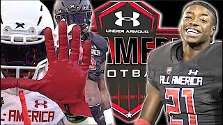 🔥🔥 under armour all - american game 2018 | utr highlight mix