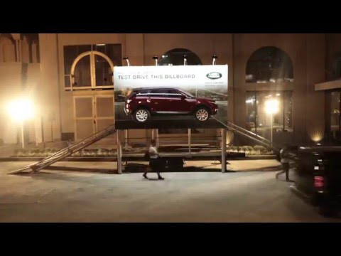Winner - The Test Drive Billboard - 2016 One Show Automobile Advertising of the Year