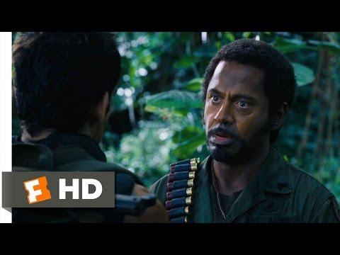 Tropic Thunder (5/10) Movie CLIP - Never Go Full Retard (2008) HD