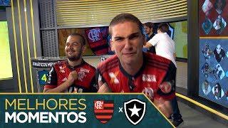Melhores Momentos - Flamengo 430 x 330 Botafogo - #Fanáticos3