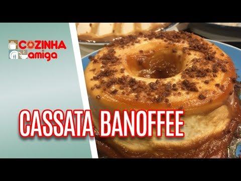 Receita de Cassata Banoffe - Alê Peruzzo | Cozinha Amiga (10/01/19)