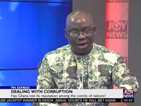 Dealing with corruption - PM Express on JoyNews (2-5-17)