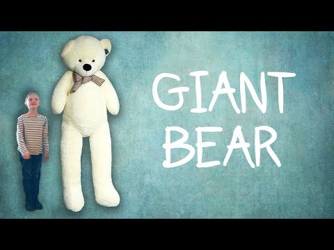 Thumbnail: We Bought That Weird Giant Bear From Amazon