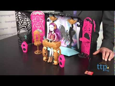 Monster High 13 Wishes Party Lounge from Mattel & Monster High 13 Wishes Party Lounge from Mattel - YouTube
