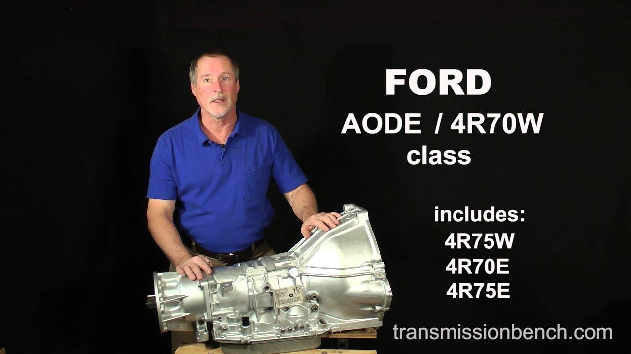 Aode 4r70w Rebuild Class Introduction