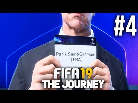 FIFA 19 The Journey Gameplay Walkthrough Part 4 - CHAMPIONS LEAGUE DRAW (Full Game)