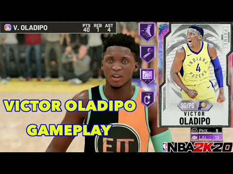 *NEW* Galaxy Opal Victor Oladipo Gameplay! Must Cop At PG With 46 HOF Badges! CRAZY DUNKS! NBA 2K20