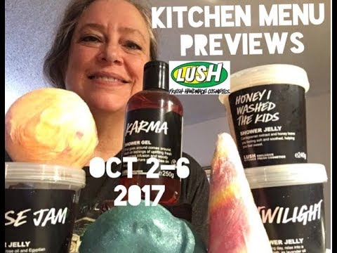Lush Kitchen Menu October 2-6 - YouTube