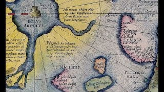 Древняя карта которая взбудоражила научный мир. На атласе Меркатора  нанесены райские земли.